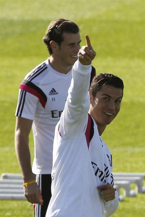 "GB: ""But obviously Cris thinks I'm number one so..."""