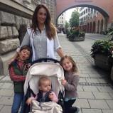 Jontxu, Emma, Nagore & Ane in October