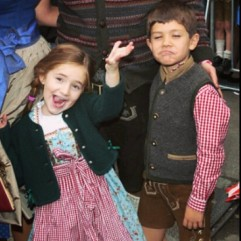 Not Halloween, but Ane & Jontxu at Oktoberfest