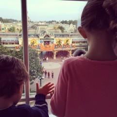 Raul & Alba Arbeloa Ruiz at Disneyland Paris.