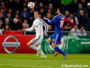 Bale found a ball