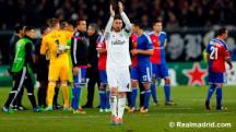 Ramos cheering the crowd