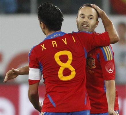 Xavi And Iniesta Tumblr