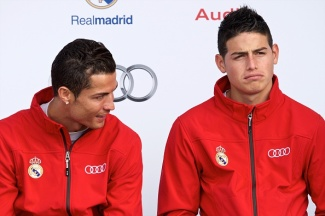 Real Madrid Players Receive New Audi Cars