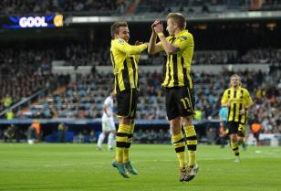 UEFA CL: Real Madrid - BV Borussia Dortmund