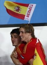 Soccer - UEFA European Championship 2008 - Final - Germany v Spain - Ernst Happel Stadium