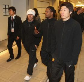 Manchester United World Club Cup Training Session