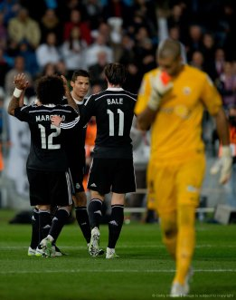 Bale and Marcelo want Cris love