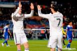 Bale and Ronaldo give each other love