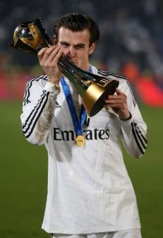 Bale loves winning trophies