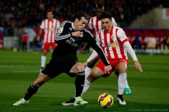 Bale with the ball