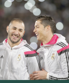 Benz and Cris have a laugh
