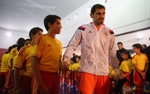 Casillas pregame