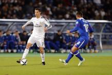 Cris with the ball