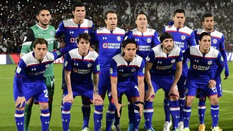 Cruz Azul starting lineup