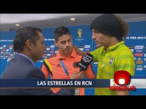 david-luiz-and-james-rodriguez-speaking-after-the-match-between-brazil-and-colombia
