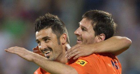 Getafe-v-Barcelona-David-Villa-Lionel-Messi_2829221