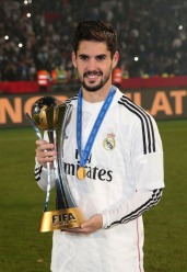 Isco and the trophy