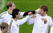 WM 2010: Training deutsche Nationalmannschaft