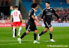 Marcelo congratulates Isco