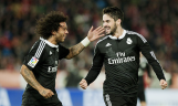 Marcelo giggling for Isco