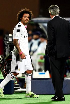 Marcelo subbed off