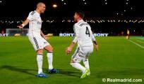 Pepe and Sergio goal celebration