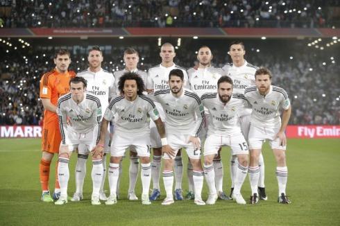 Real Madrid starting lineup
