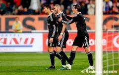 Ronaldo, Benzema, Bale