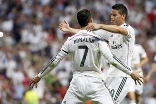 FOOTBALL : Real Madrid vs Atletico de Madrid - Liga - 13/09/2014