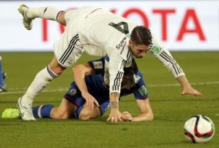 Sergio gives away a penalty