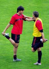 AC Milan Training Ahead Of The UEFA Champions League Final