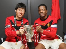 Carling Cup Final Aston Villa v Manchester United