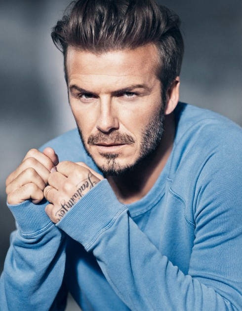 Becks looks good in blue