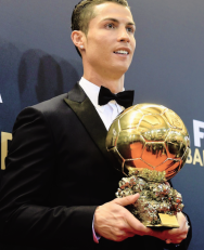 Cris and his award