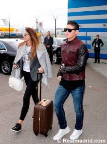 James and wife in Zurich