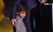 Junior with his dad