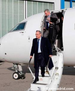 Peez arrival in Zurich