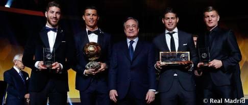 Real Madrid's big winners