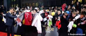 Ronaldo arrives