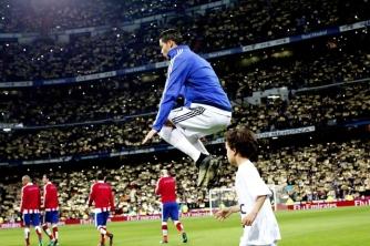 Ronaldo gets air