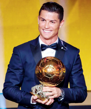 Ronaldo great smile