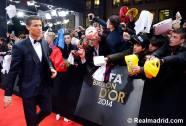 Ronaldo red carpet