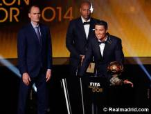 Ronaldo speech for Ballon d'or