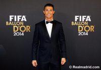 Ronaldo tuxed up