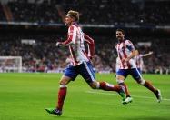 Torres celebrates goal against RM
