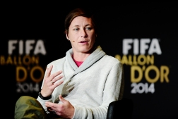 Wambach press conference