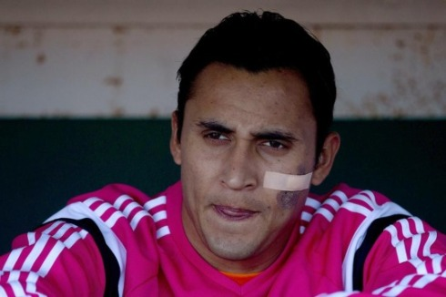 Keylor resembles The Walking Dead