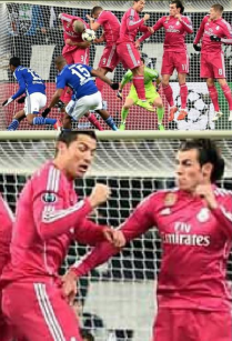 Bale gets fresh with Cristiano