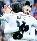 Benz hugs Bale for dear life